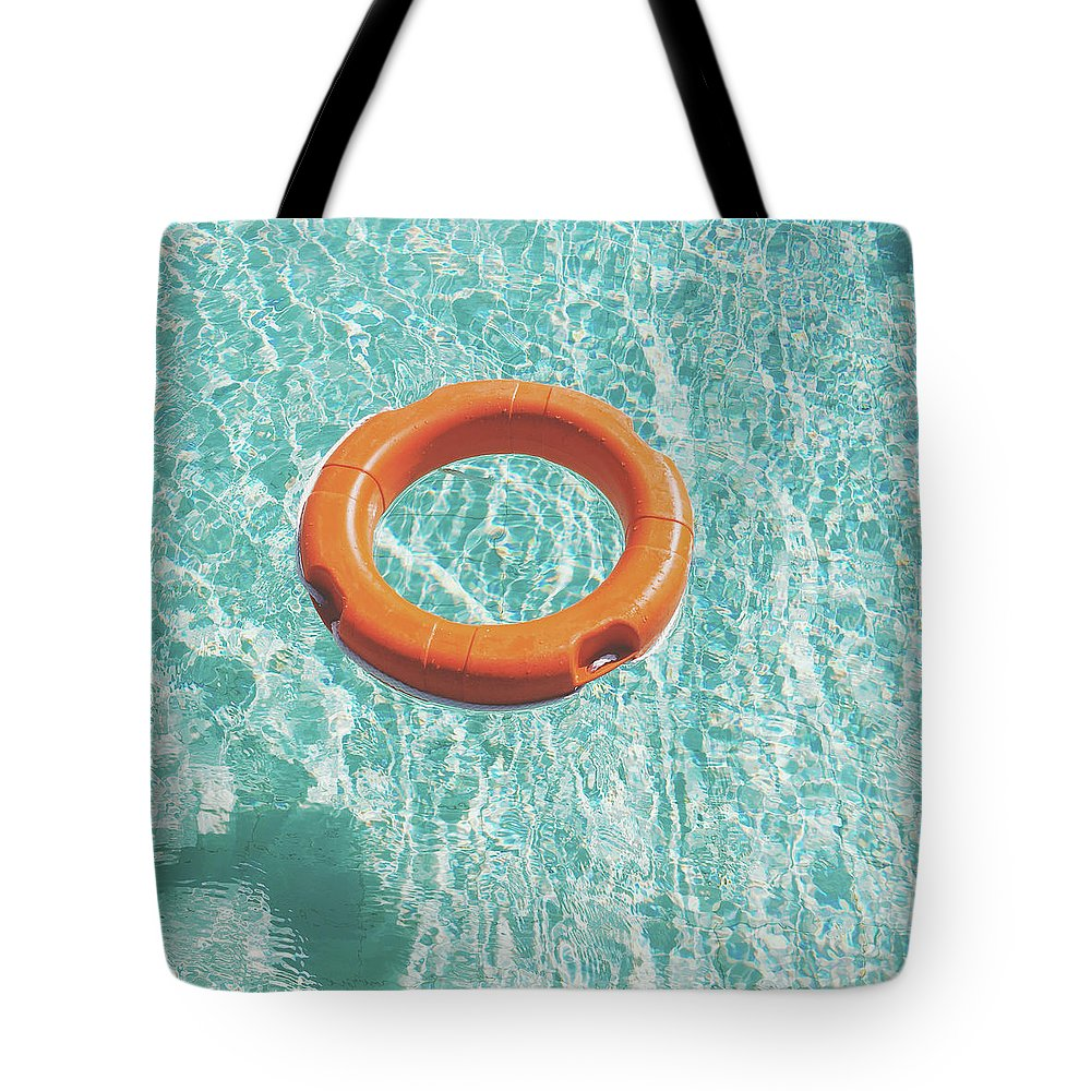 Water Tote Bag featuring the photograph Swimming Pool III by Cassia Beck