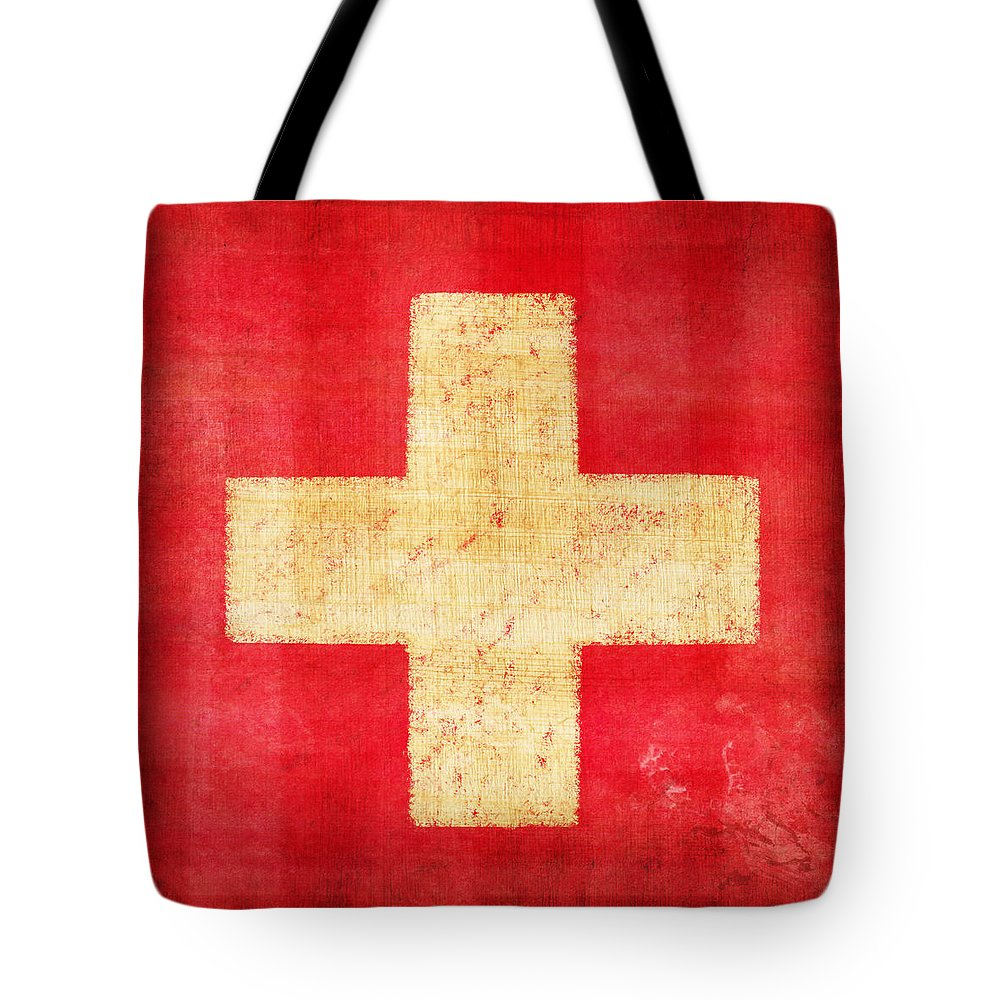 Retro Abstract Tote Bags
