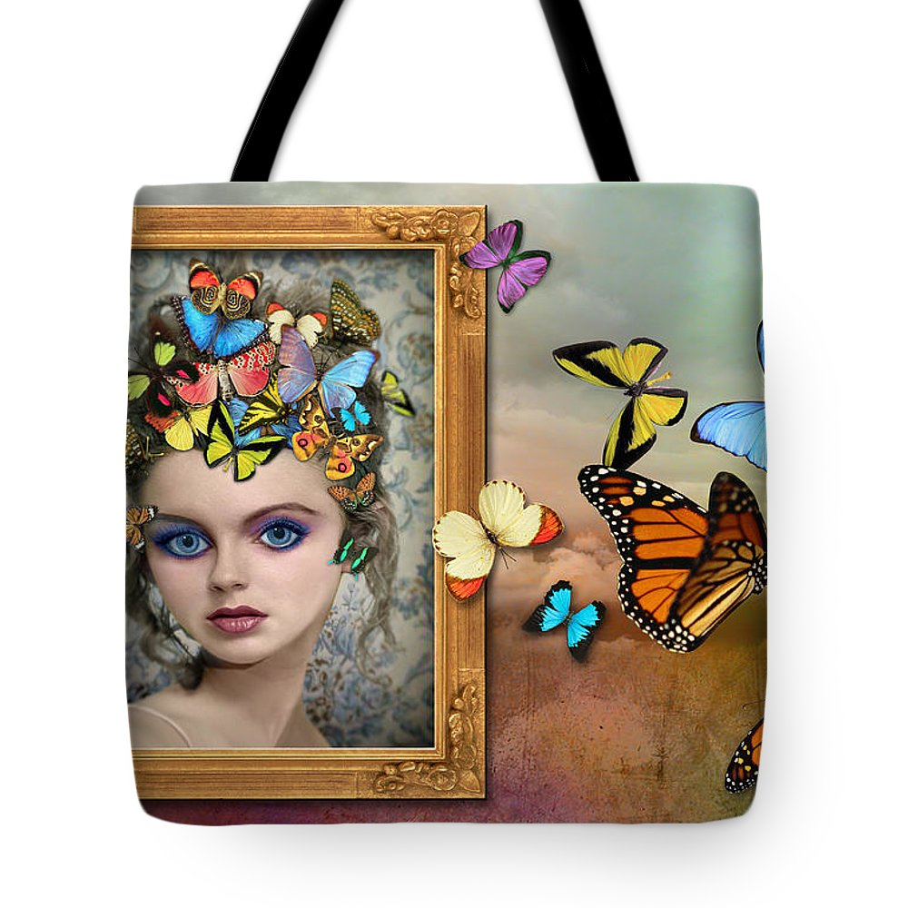 Girl Tote Bag featuring the photograph Sylph II by Tammy Wetzel