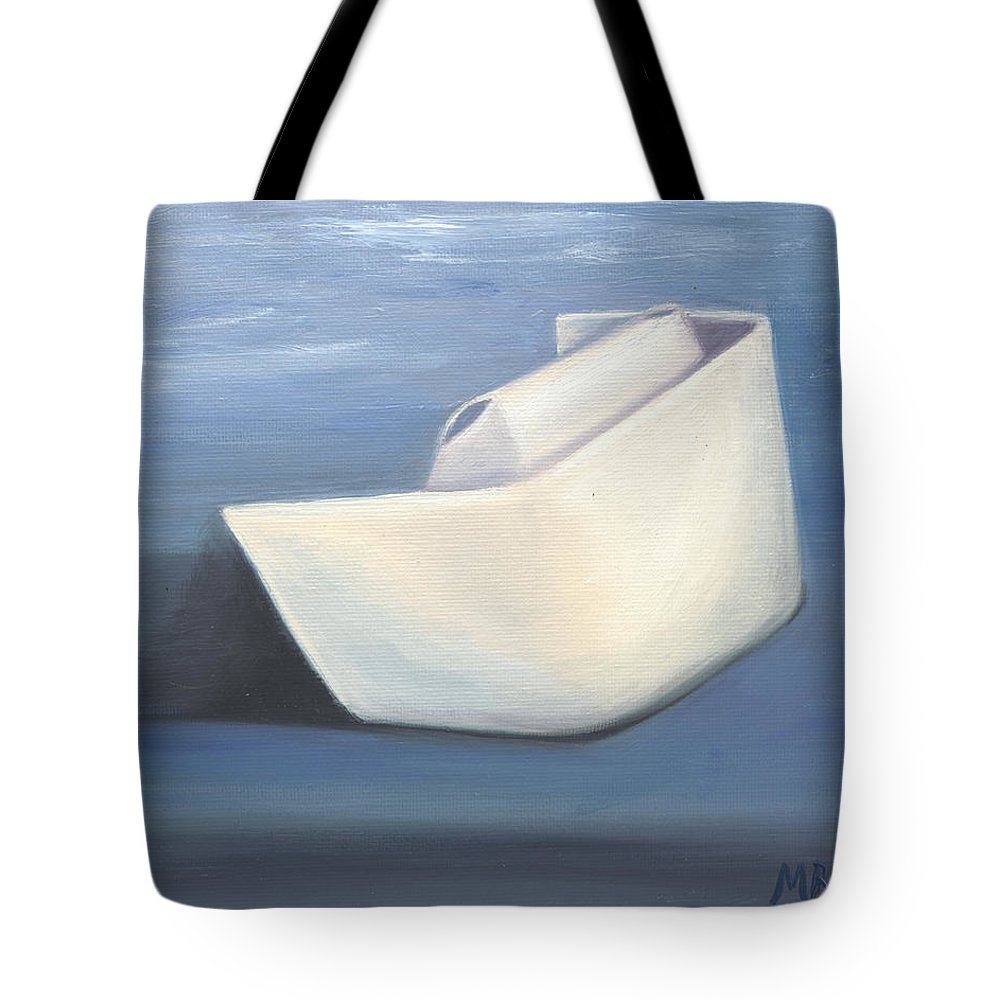 Nurse Tote Bag featuring the painting Symbol Of A Proud Profession IIi by Marlyn Boyd