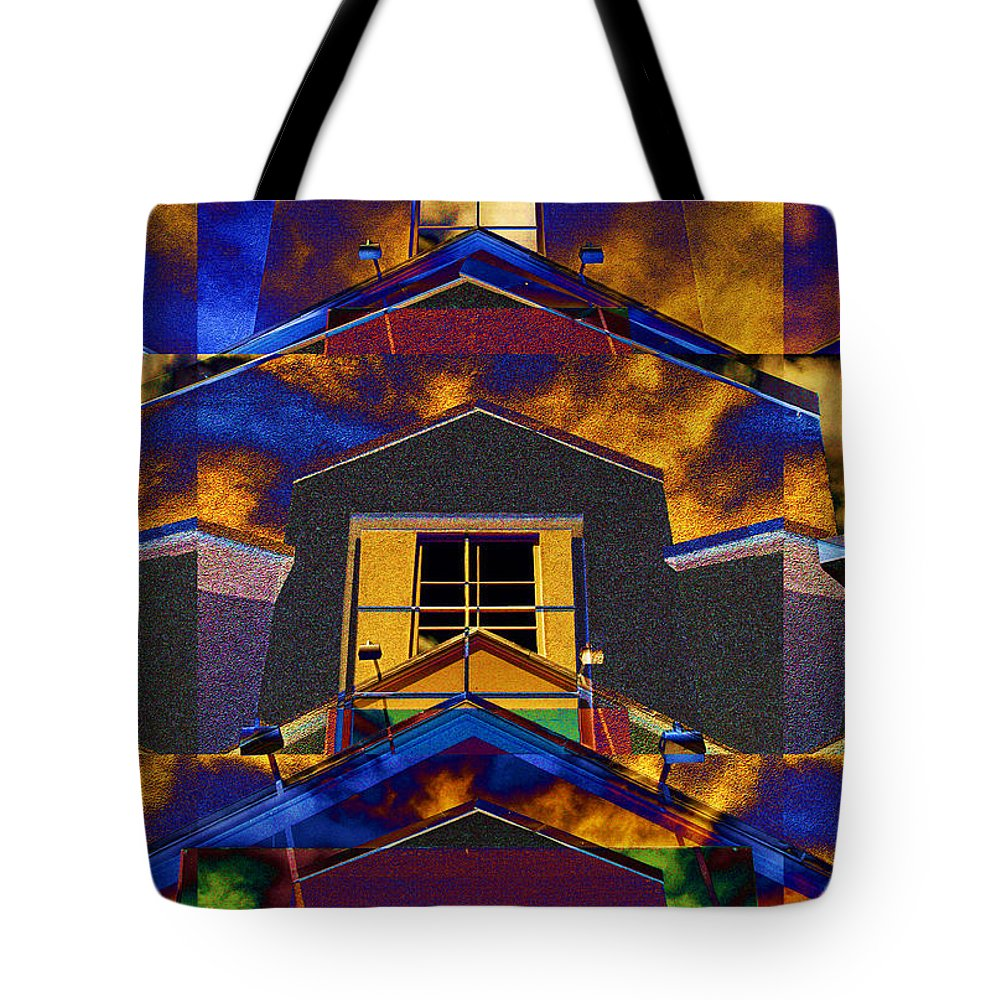 Photography Tote Bag featuring the photograph Symmetry In Chaos by Paul Wear