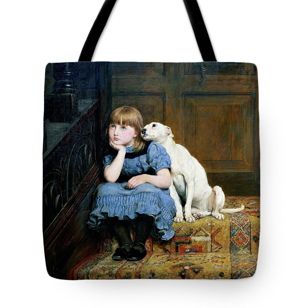 Deep Thought Tote Bags