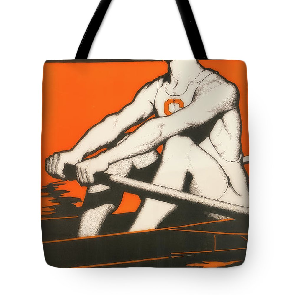 Poster Tote Bag featuring the photograph Syracuse University Crewman by Library Of Congress