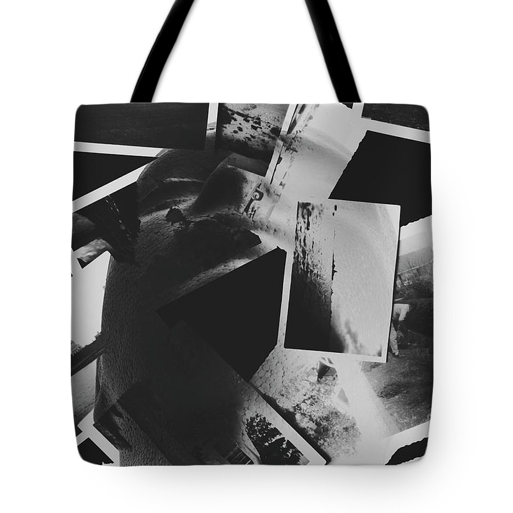 Black Tote Bag featuring the photograph Systematic Recollection Of Memories by Jorgo Photography - Wall Art Gallery