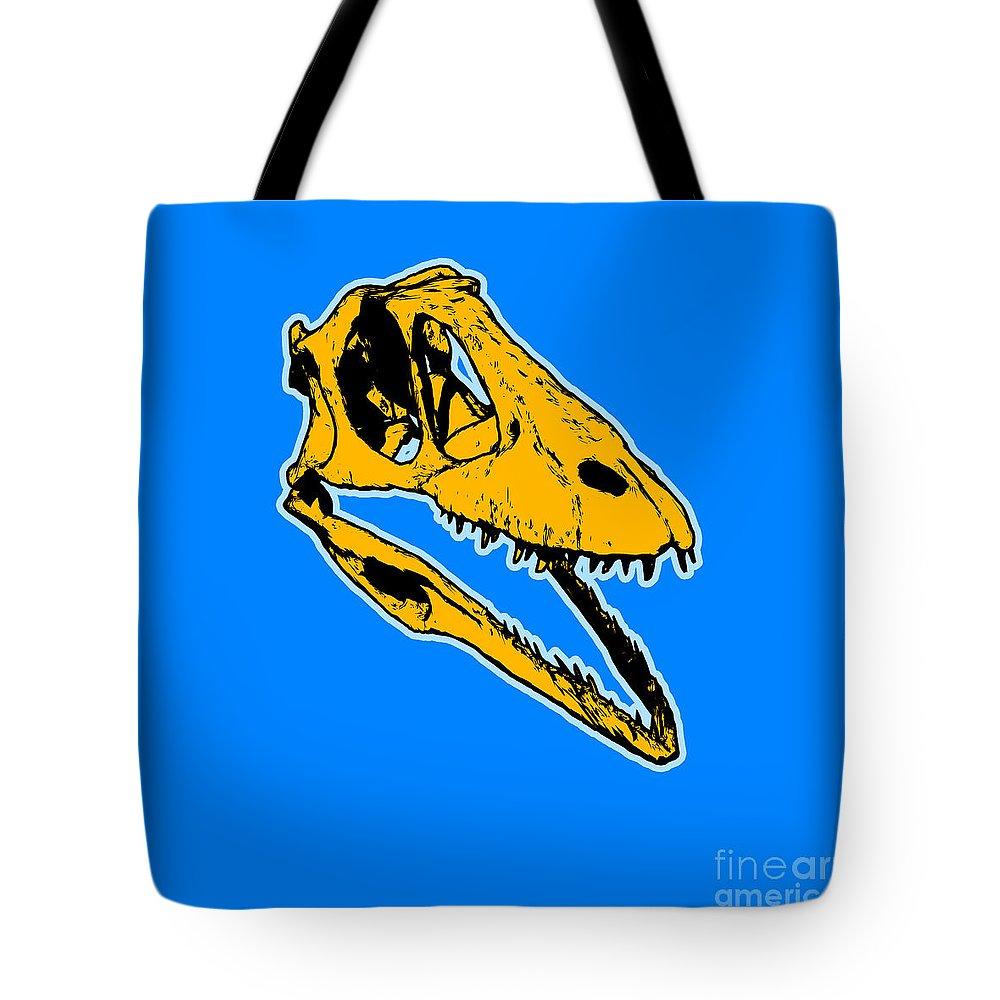 Dinosaur Tote Bags