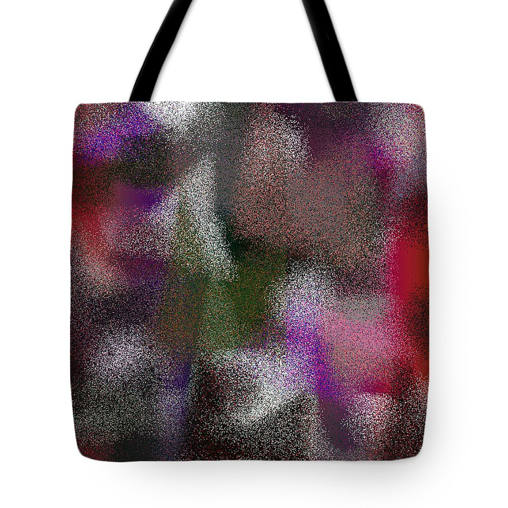 Abstract Tote Bag featuring the digital art T.1.1006.63.5x7.3657x5120 by Gareth Lewis