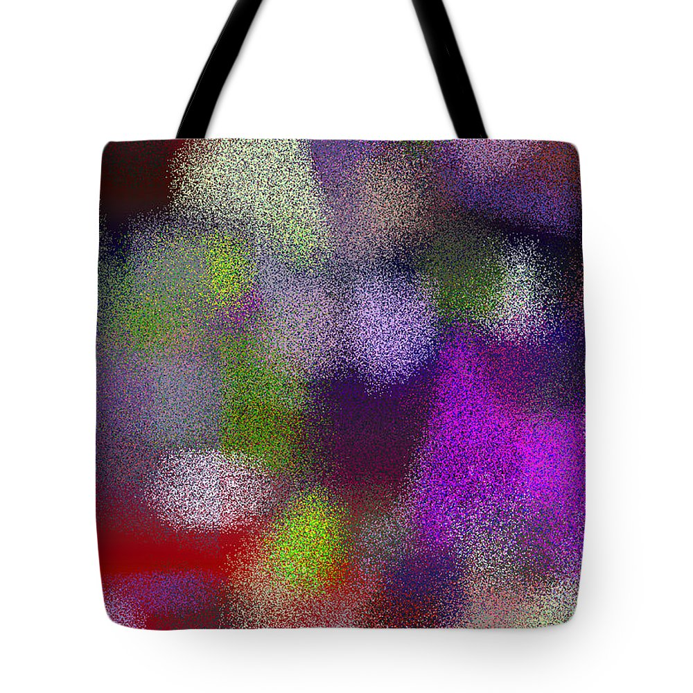 Abstract Tote Bag featuring the digital art T.1.1654.104.2x3.3413x5120 by Gareth Lewis