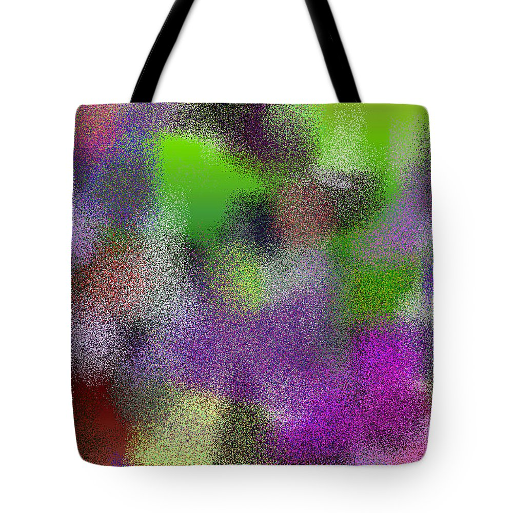 Abstract Tote Bag featuring the digital art T.1.1655.104.3x2.5120x3413 by Gareth Lewis