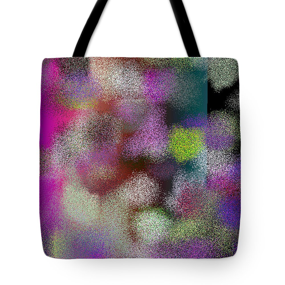 Abstract Tote Bag featuring the digital art T.1.1663.104.7x5.5120x3657 by Gareth Lewis