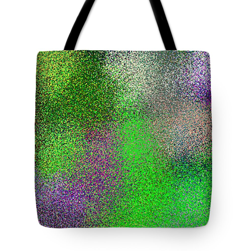 Abstract Tote Bag featuring the digital art T.1.1876.118.1x3.1706x5120 by Gareth Lewis