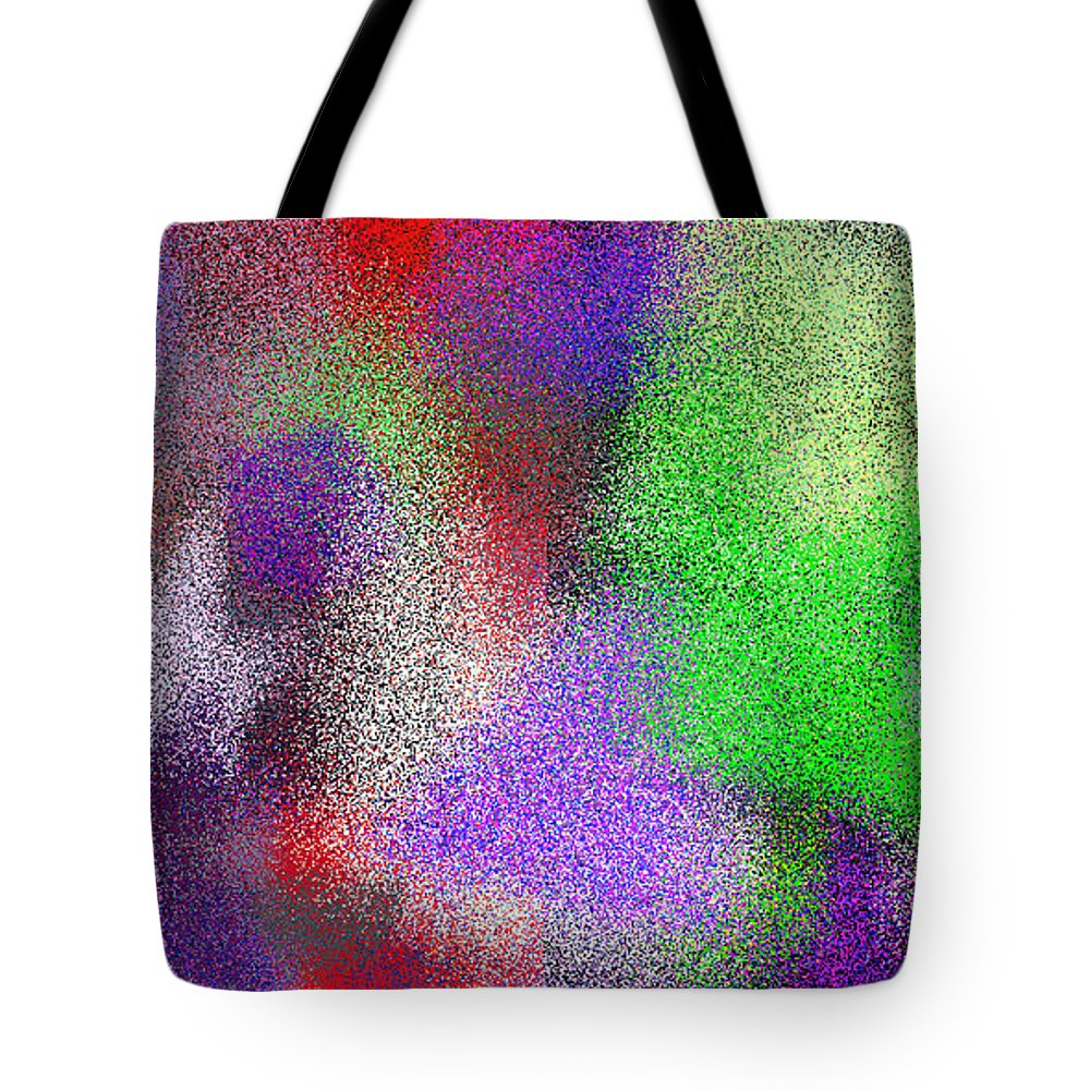 Abstract Tote Bag featuring the digital art T.1.1891.119.2x1.5120x2560 by Gareth Lewis