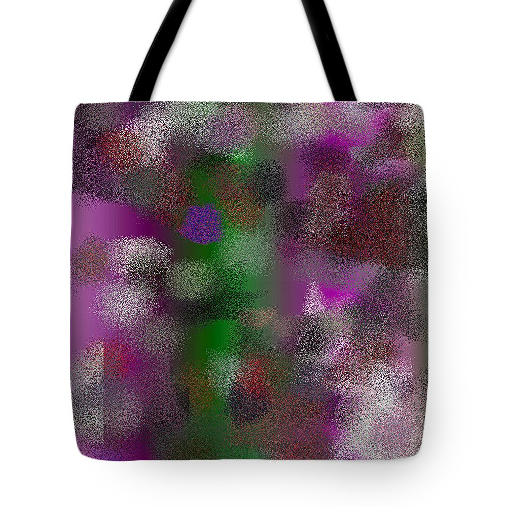 Abstract Tote Bag featuring the digital art T.1.993.63.1x1.5120x5120 by Gareth Lewis