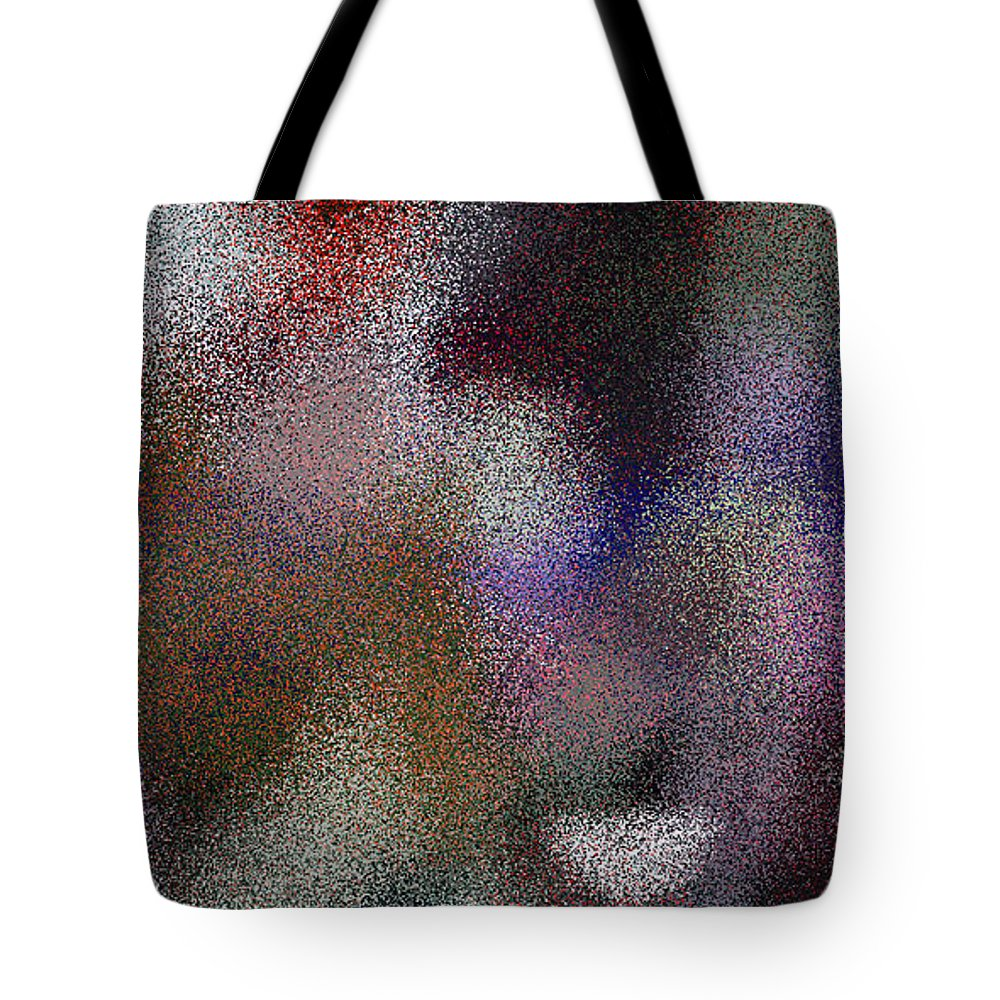 Abstract Tote Bag featuring the digital art T.1.995.63.2x1.5120x2560 by Gareth Lewis