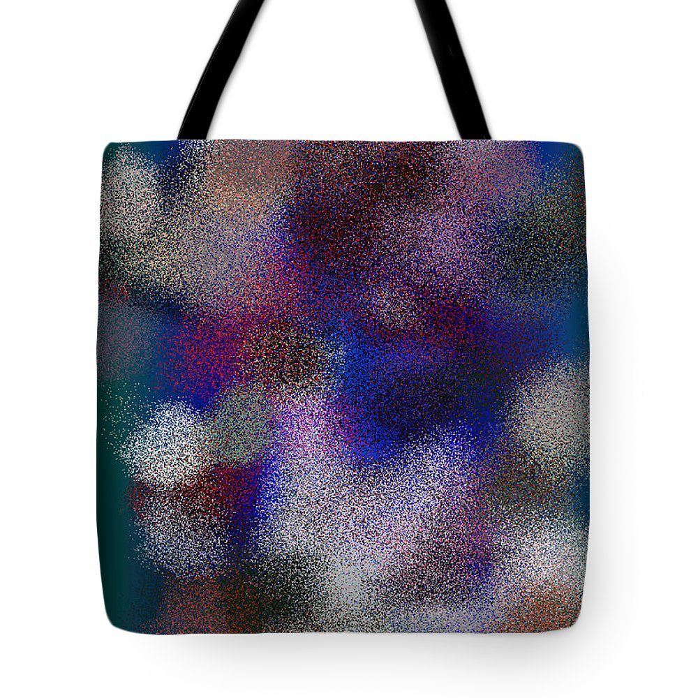 Abstract Tote Bag featuring the digital art T.1.998.63.2x3.3413x5120 by Gareth Lewis