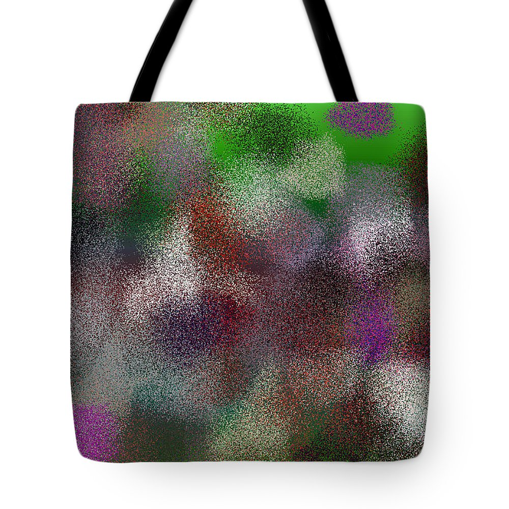 Abstract Tote Bag featuring the digital art T.1.999.63.3x2.5120x3413 by Gareth Lewis