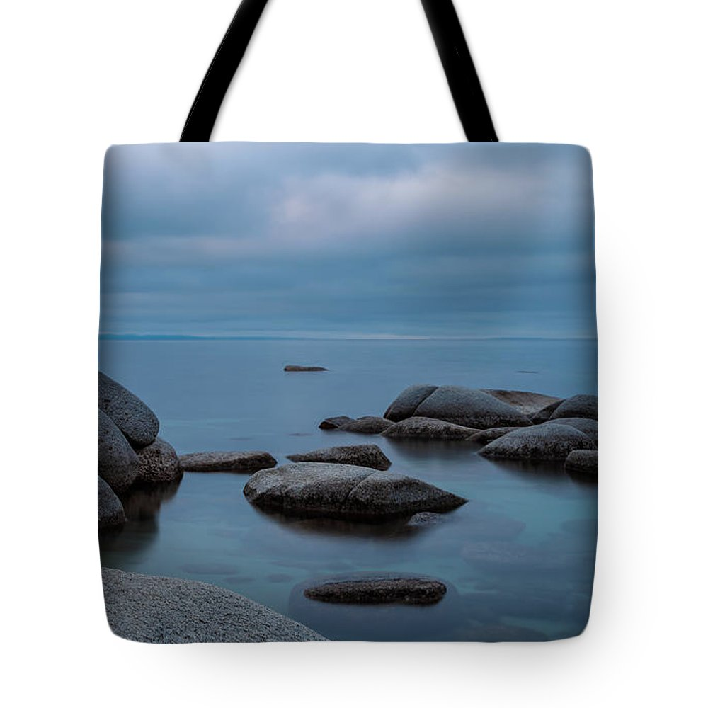 Landscape Tote Bag featuring the photograph Tahoe Blue by Jonathan Nguyen