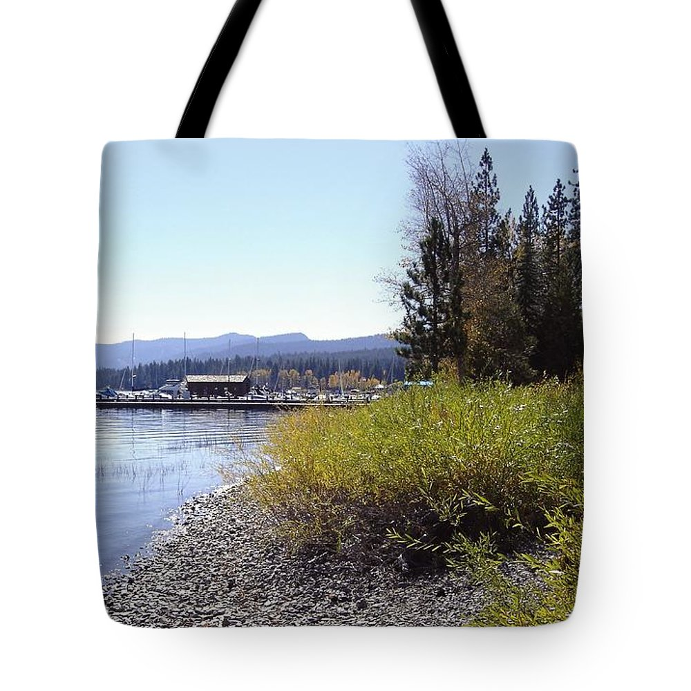 Lake Tote Bag featuring the photograph Tahoe by Mary Rogers