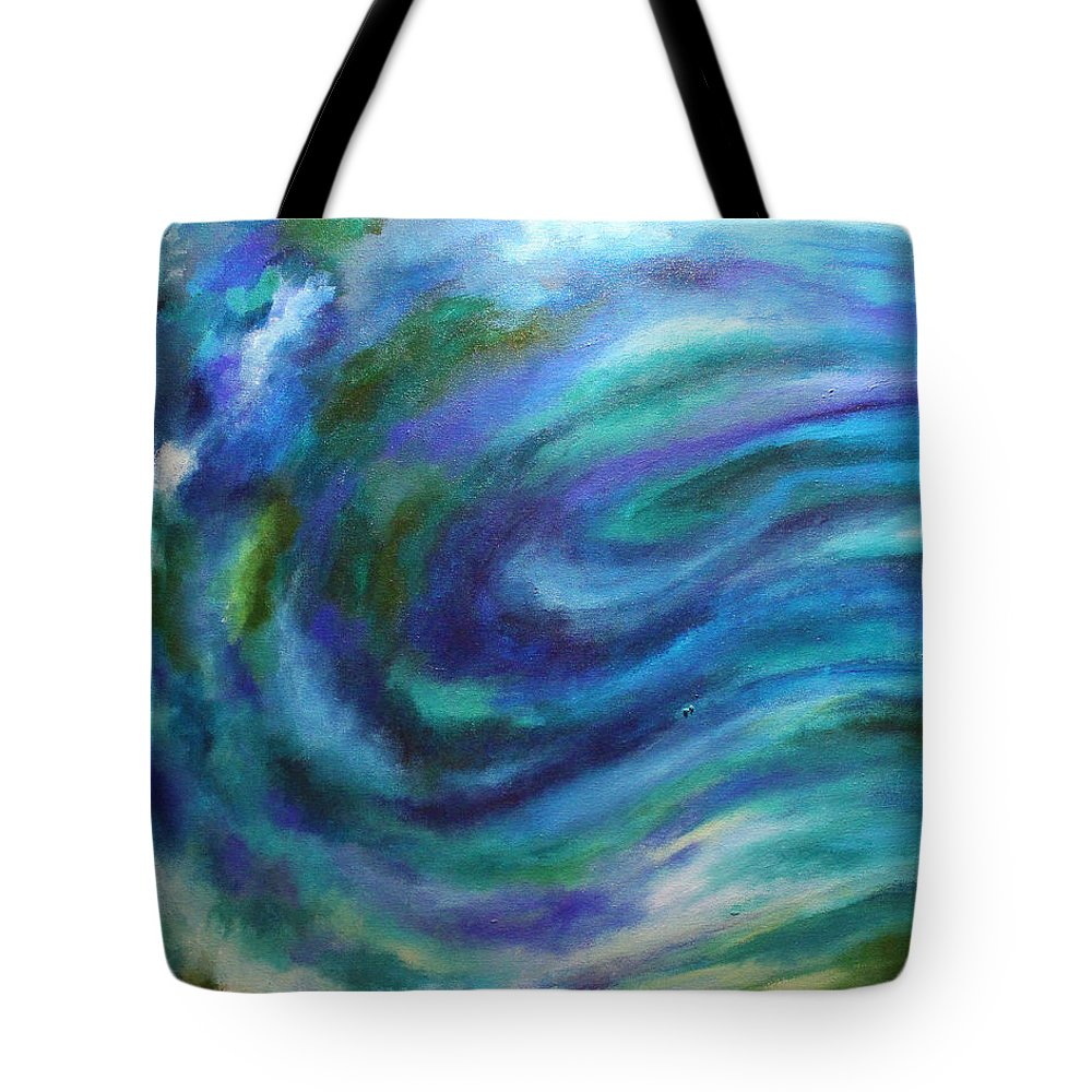 2008 Tote Bag featuring the painting Tahoe by Will Felix