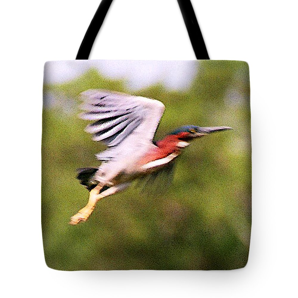Wild Life Tote Bag featuring the digital art Take Off by Steve Karol