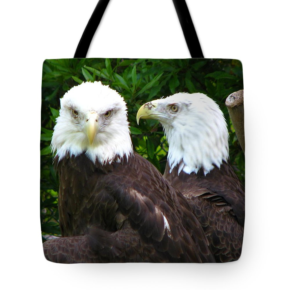 Tote Bag featuring the photograph Talking To Me by Greg Patzer