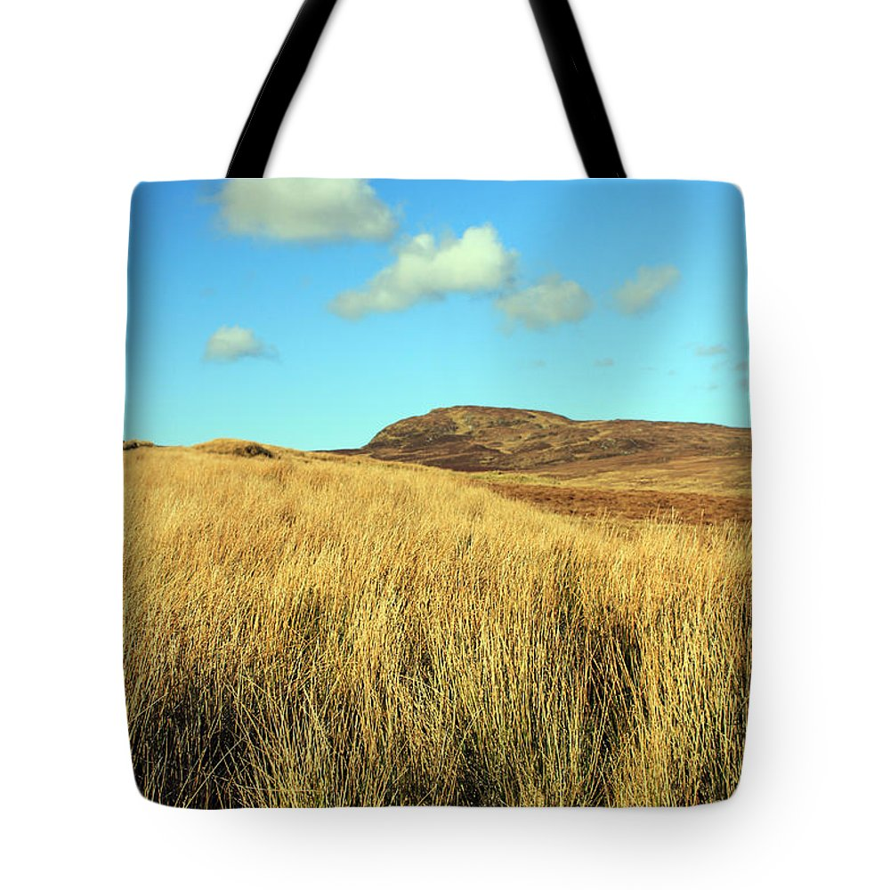 Landscapes Tote Bag featuring the photograph Tall Grass by Jennifer Robin