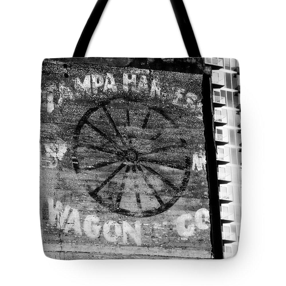 Tampa Harness And Wagon Company Tote Bag featuring the photograph Tampa Harness Wagon N Company by David Lee Thompson