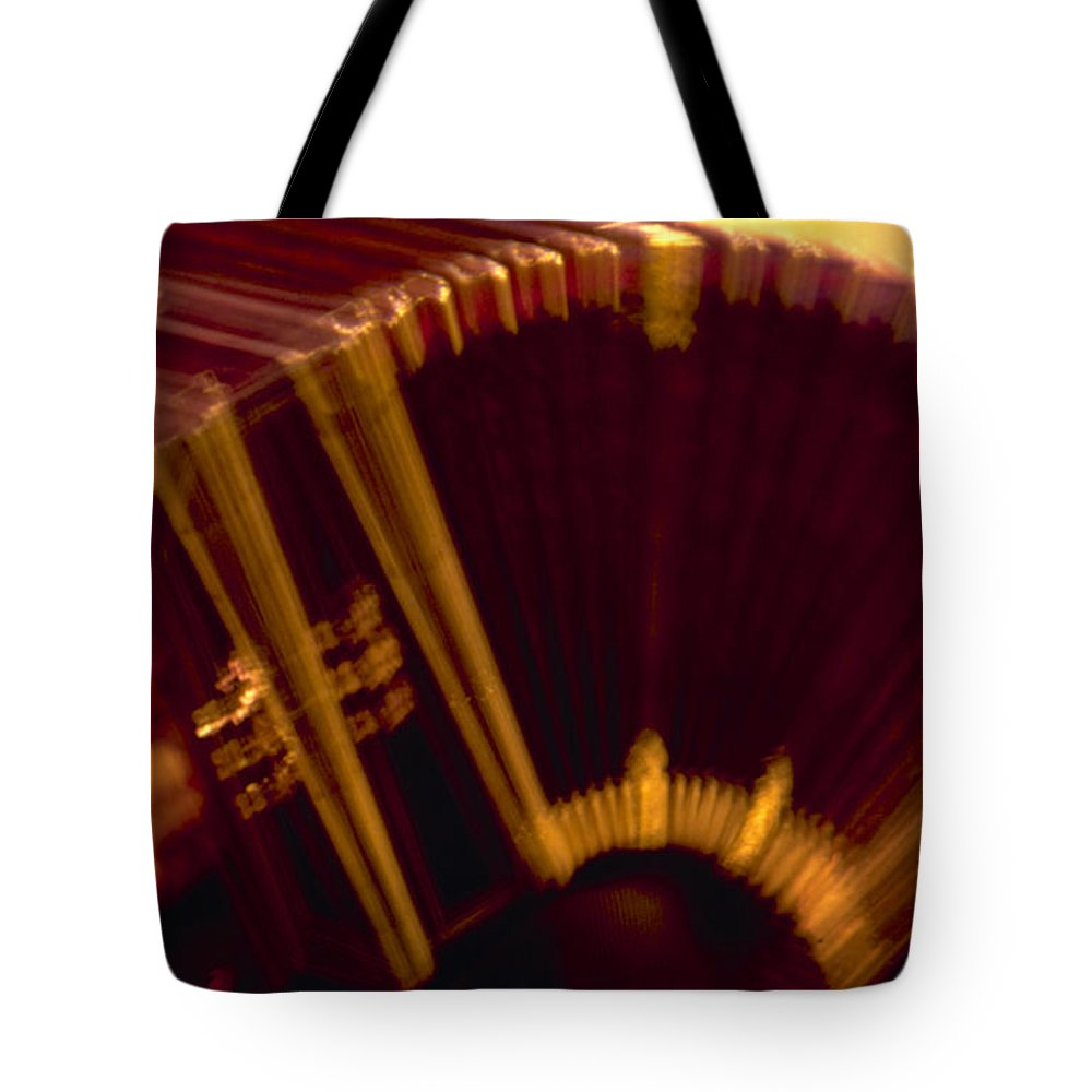 Music Tote Bag featuring the photograph Tango by Michael Mogensen