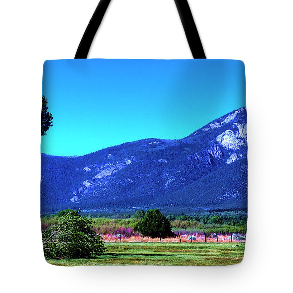 New Mexico Tote Bag featuring the photograph Taos Mountains by David Patterson