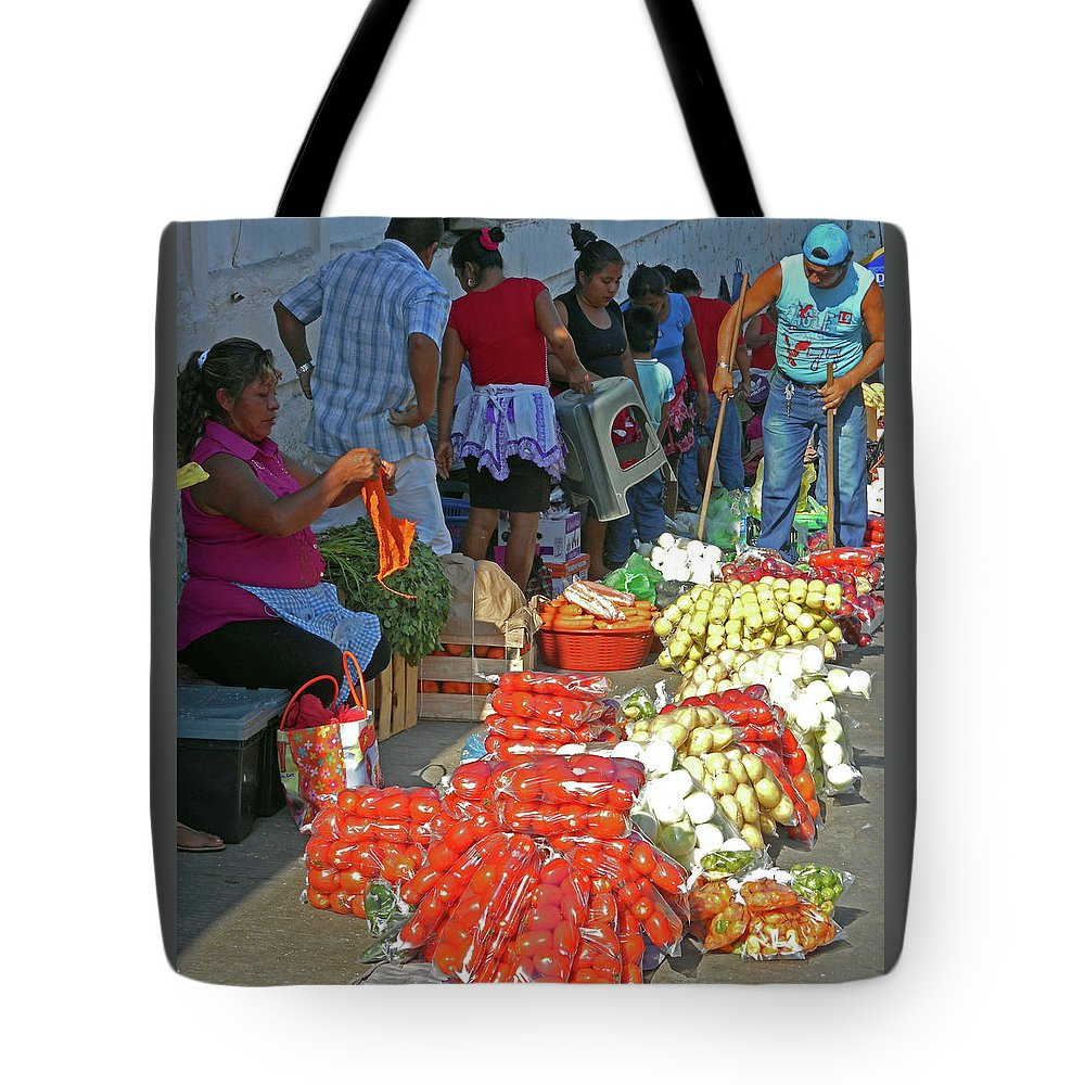 Tapachula Tote Bag featuring the photograph Tapachula 8 by Ron Kandt