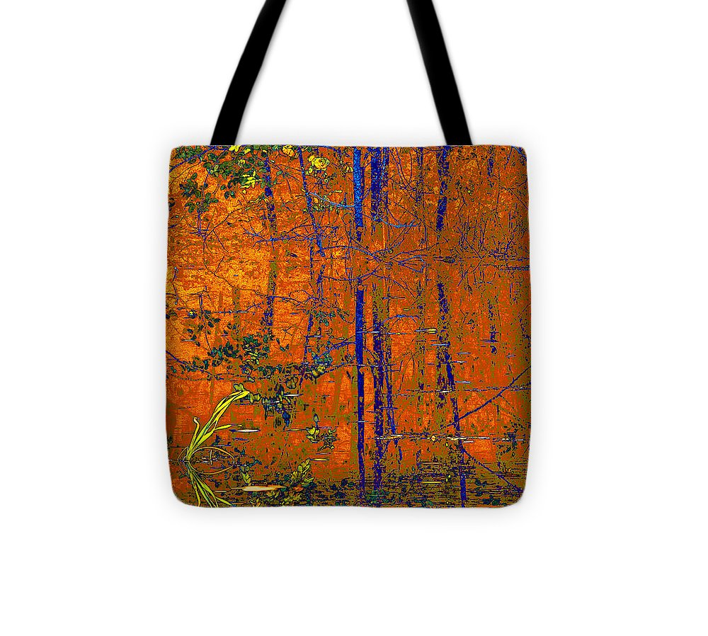 Reflections Tote Bag featuring the photograph Tapestry by Steve Warnstaff