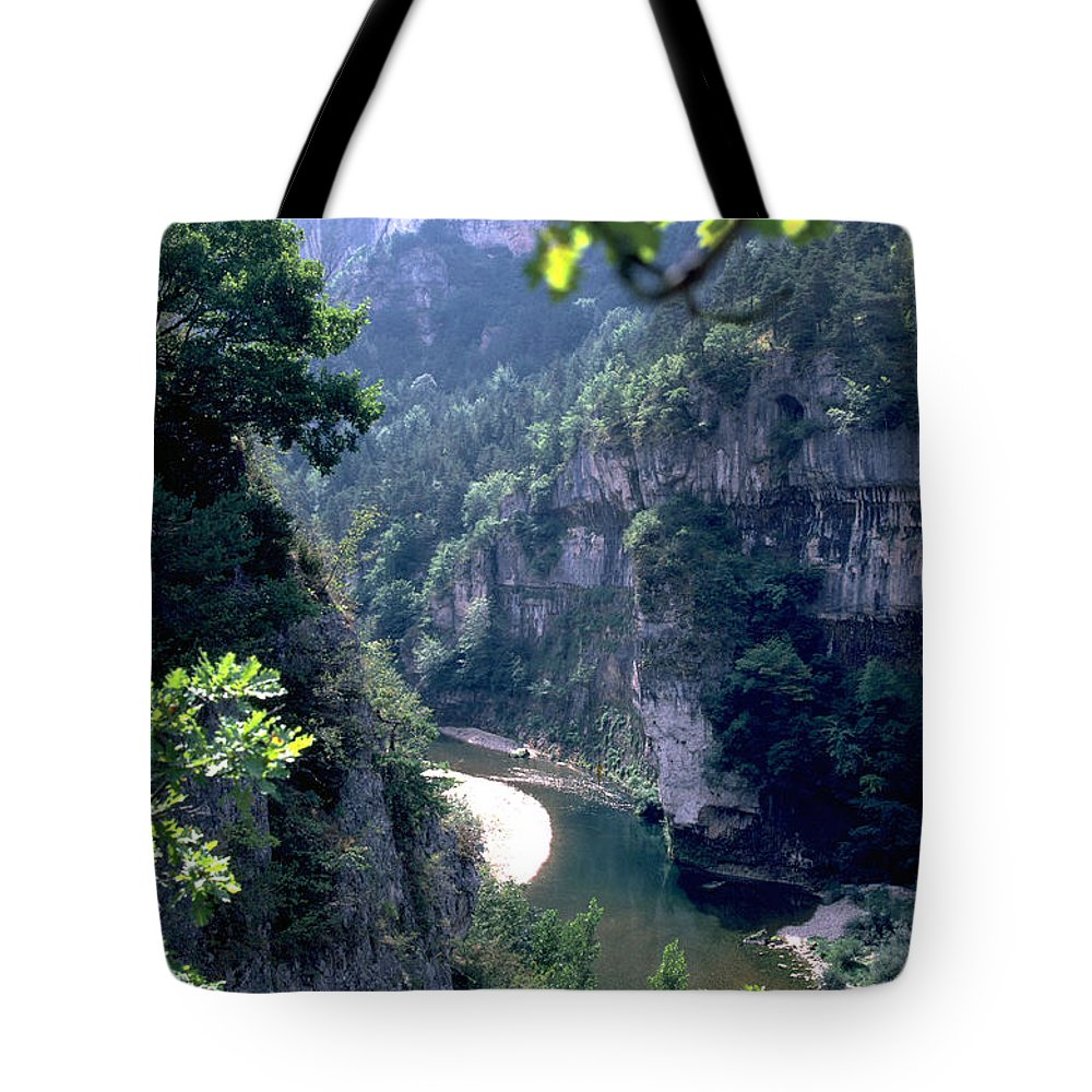 France Tote Bag featuring the photograph Tarn by Flavia Westerwelle