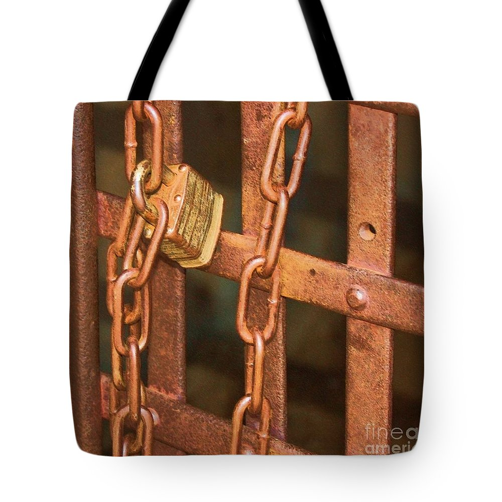 Metal Tote Bag featuring the photograph Tarnished Image by Debbi Granruth