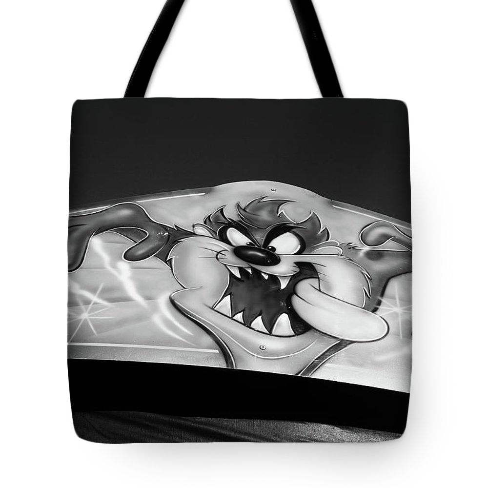 Lister Park Tote Bag featuring the photograph Tazered by Jez C Self