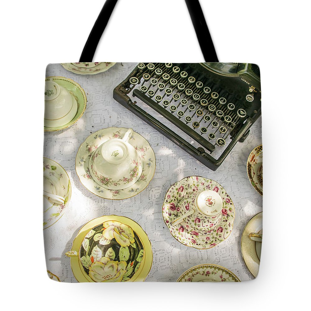 Tea Tote Bag featuring the photograph Tea Time by Julie Richie