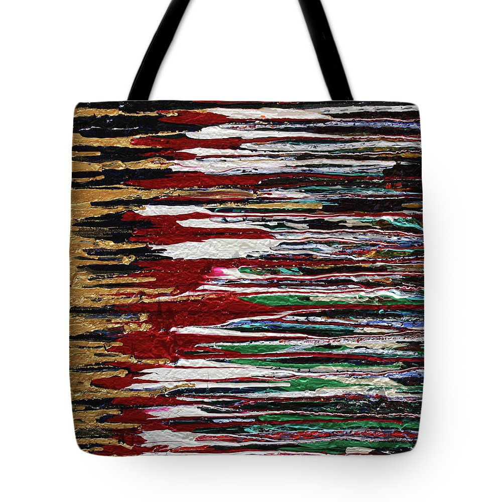 Fusionart Tote Bag featuring the painting Tears Of The Sun by Ralph White