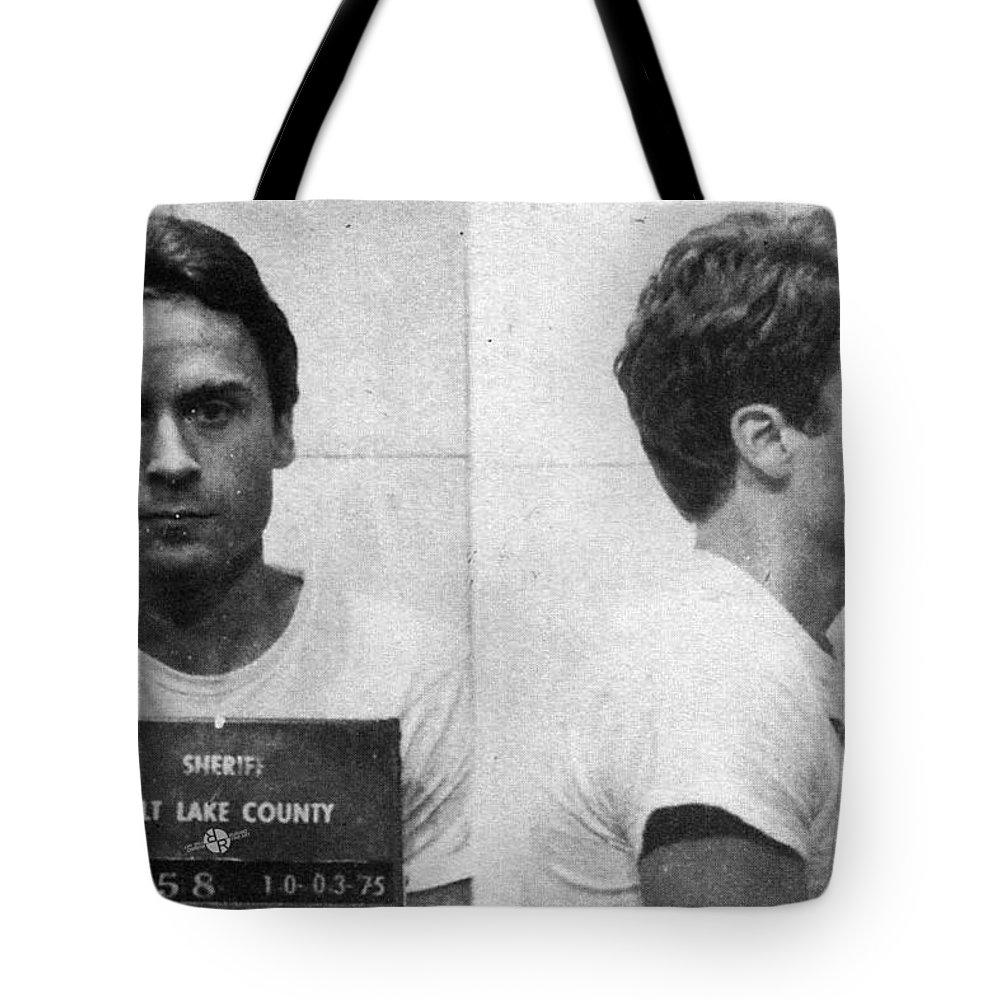 Ted Bundy Tote Bags
