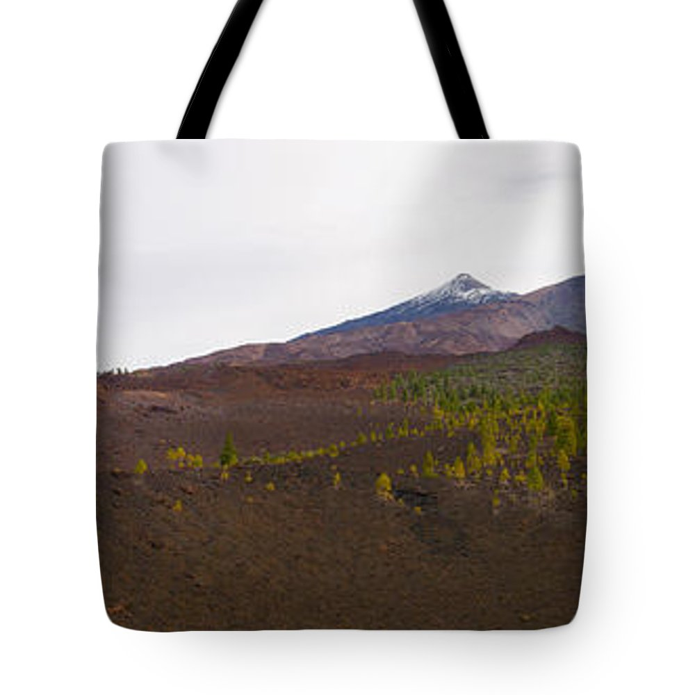 Landscape Tote Bag featuring the photograph Teide Nr 13 by Jouko Lehto
