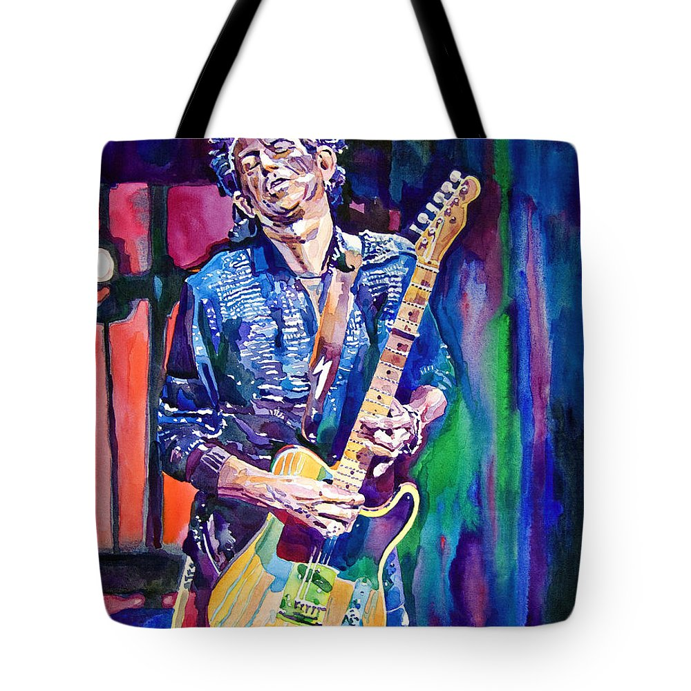 Keith Richards Tote Bags