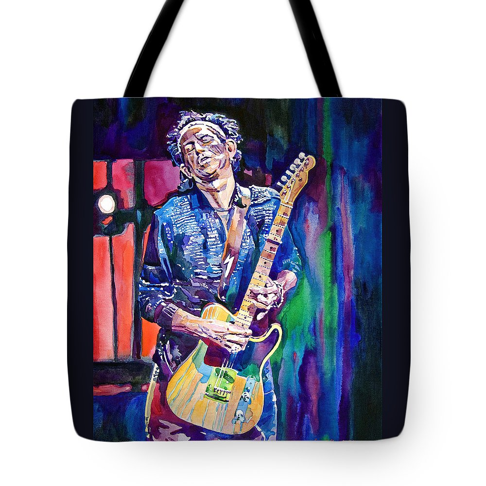 Rolling Stones Keith Richards Tote Bags