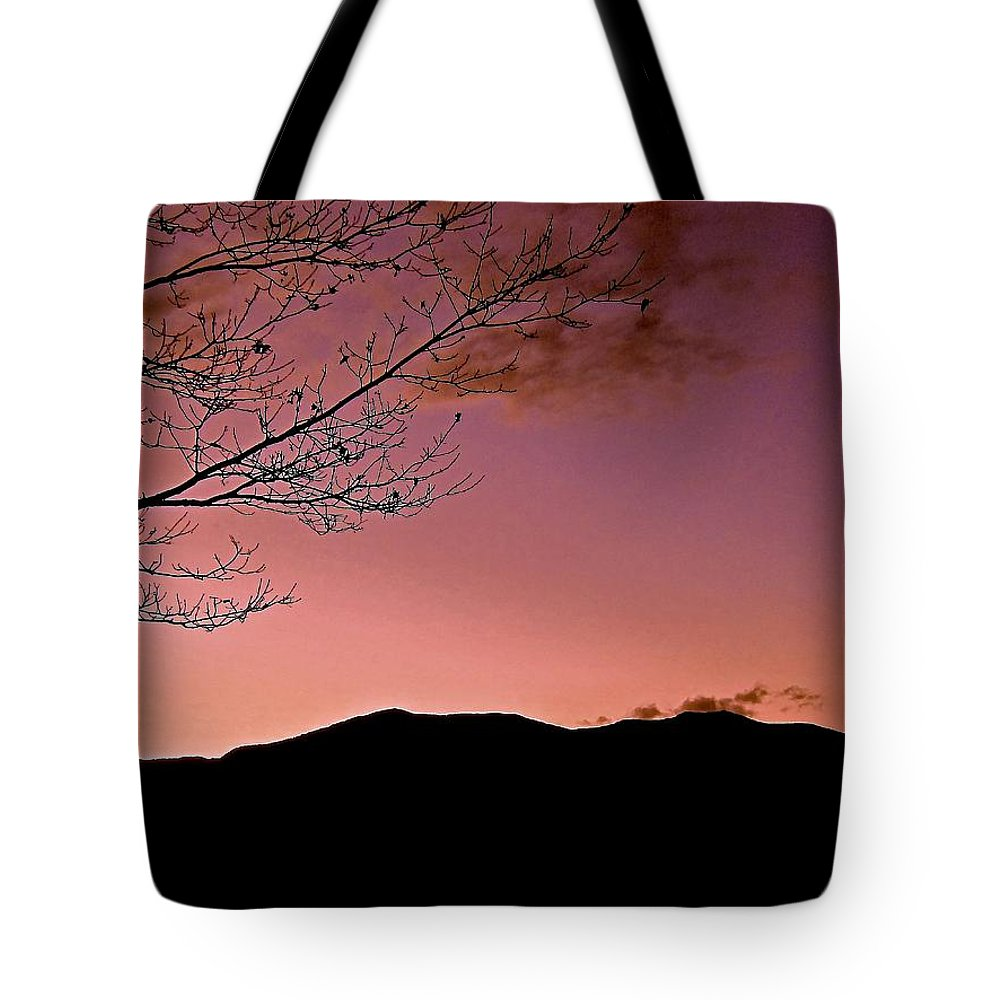 Sunset Tote Bag featuring the photograph Tender Is The Night 3 by Elizabeth Tillar