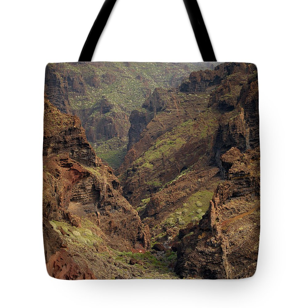 Valasretki Tote Bag featuring the photograph Tenerife Coastline by Jouko Lehto