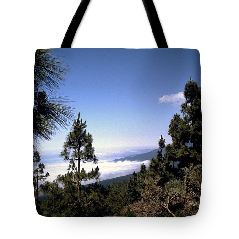 Tenerife Tote Bag featuring the photograph Tenerife by Flavia Westerwelle