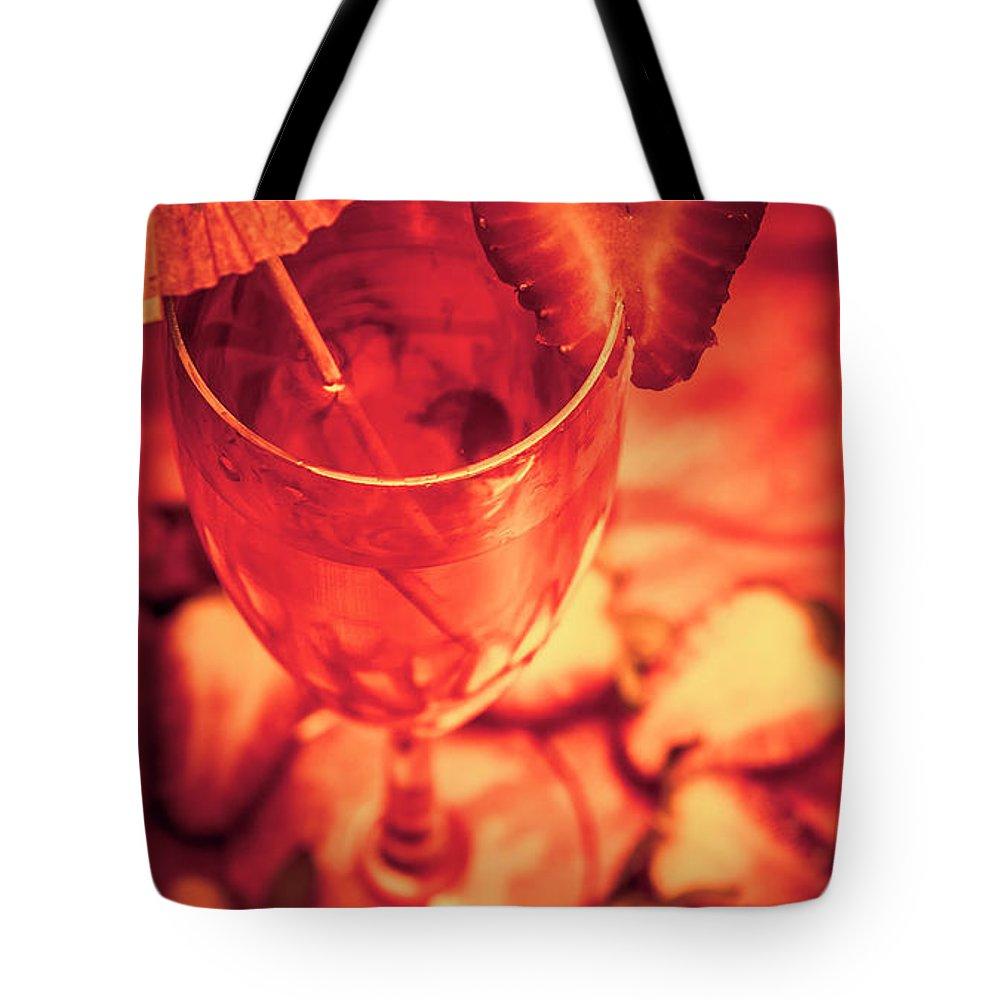 Cocktail Umbrella Tote Bags