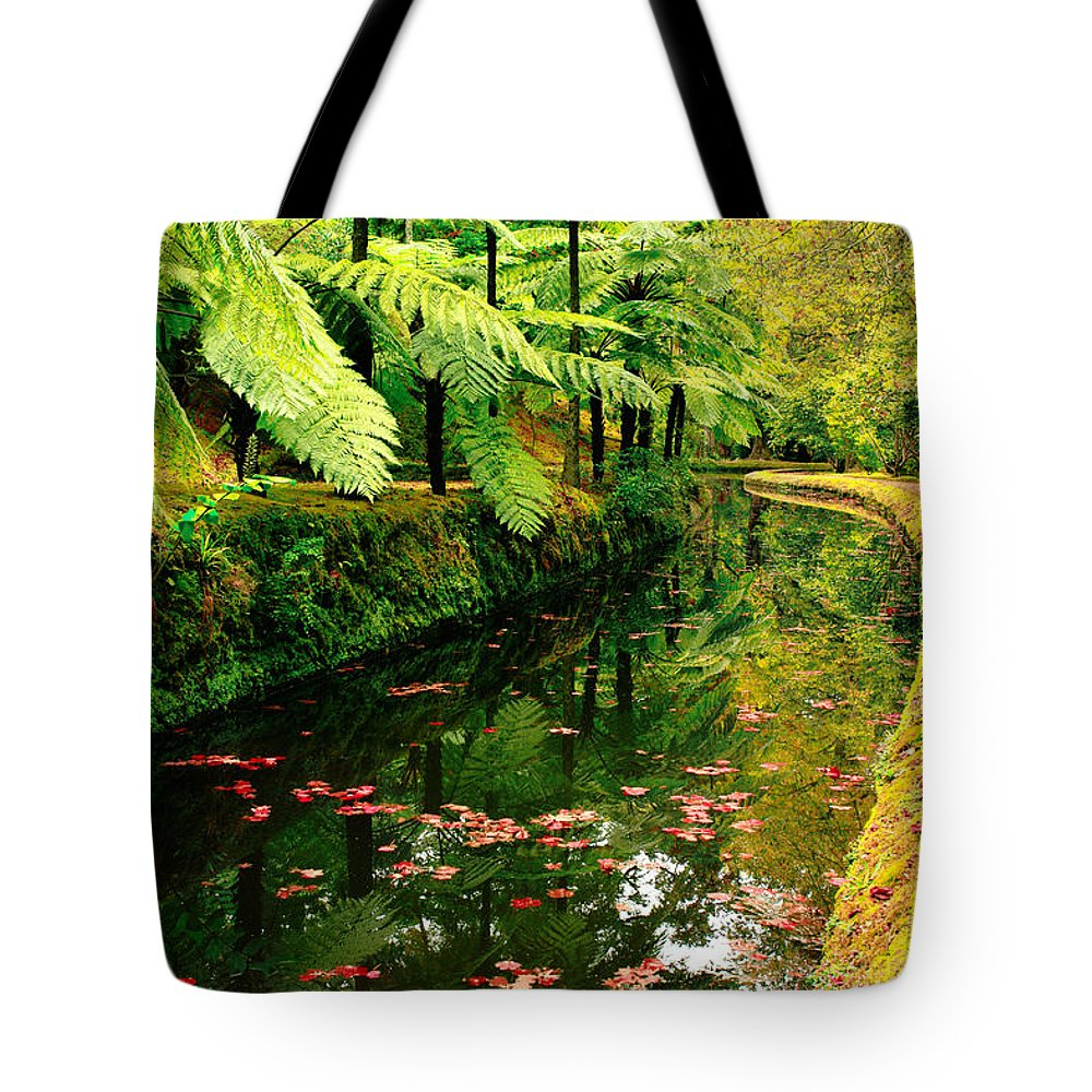 Azores Tote Bag featuring the photograph Terra Nostra Park by Gaspar Avila