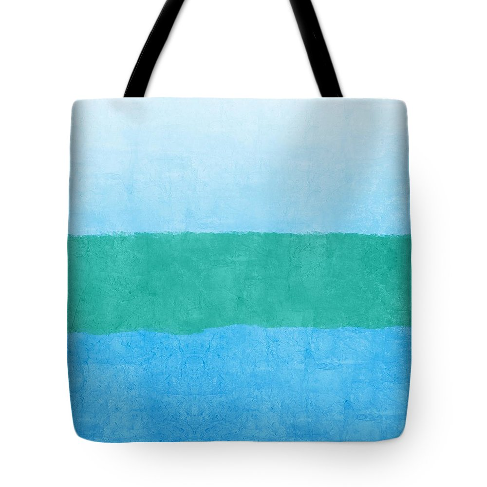 Blue Tote Bag featuring the photograph Test by Linda Woods