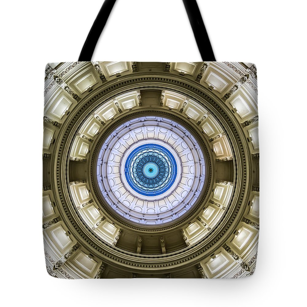 Austin Tote Bag featuring the photograph Texas Cross by David Downs