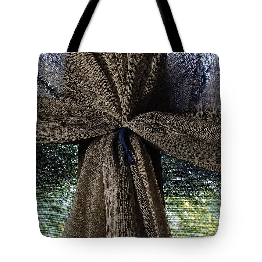 Texture Tote Bag featuring the photograph Texture And Lace by Peter Piatt