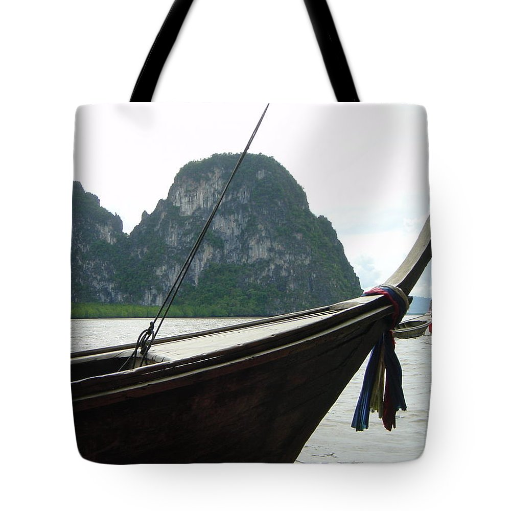 Thailand Tote Bag featuring the photograph Thai Taxi by D Turner