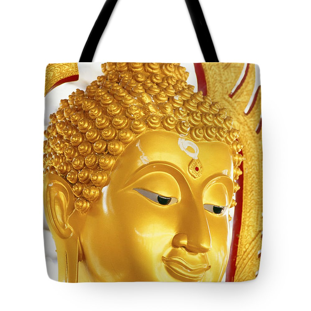 Art Tote Bag featuring the photograph Thailand, Pathom Thani by Bill Brennan - Printscapes