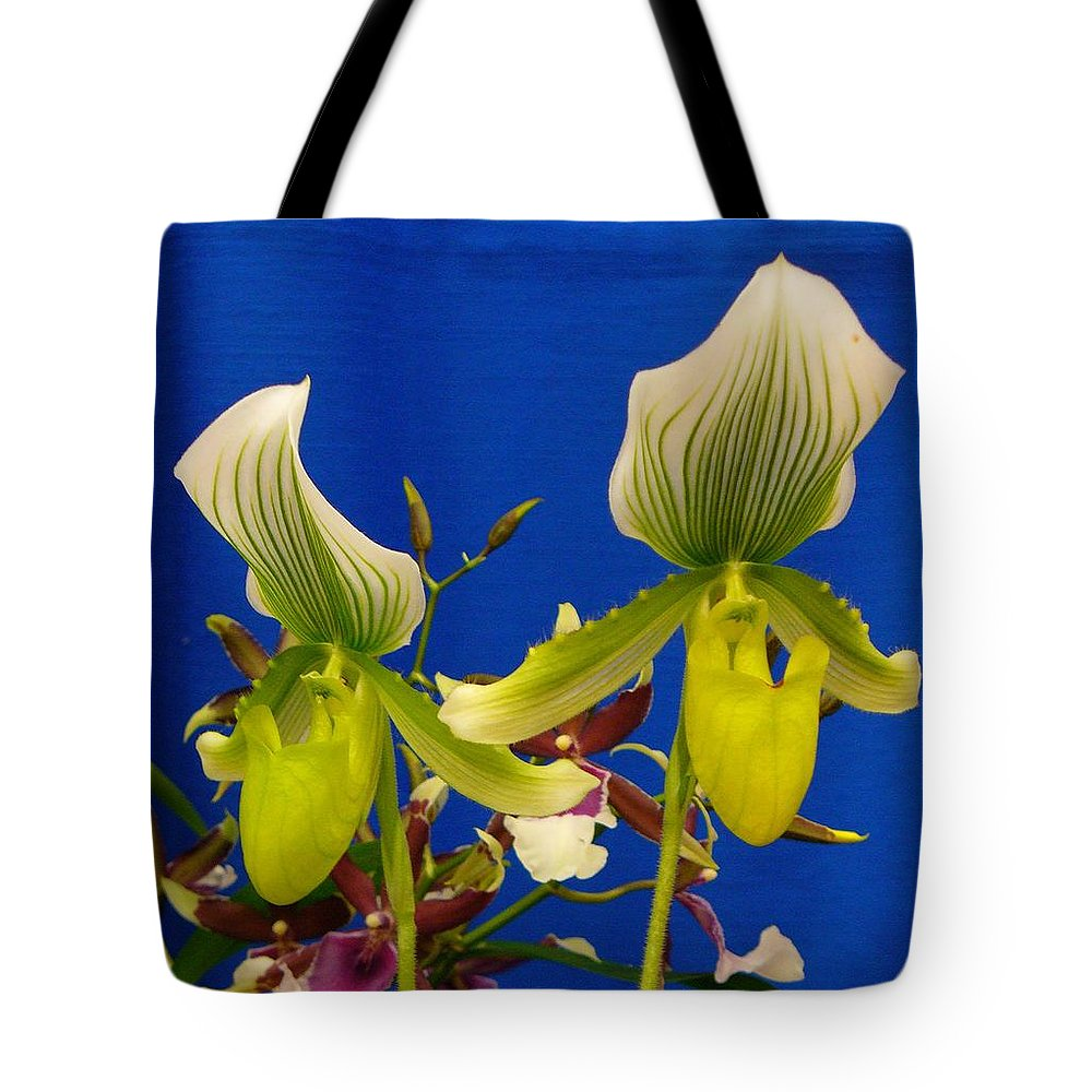 Orchids Tote Bag featuring the photograph Thank You Thank You Very Much by Peggy King